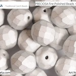 PRECIOSA Fire-Polished Beads - 151 19 001 - 00030/27050