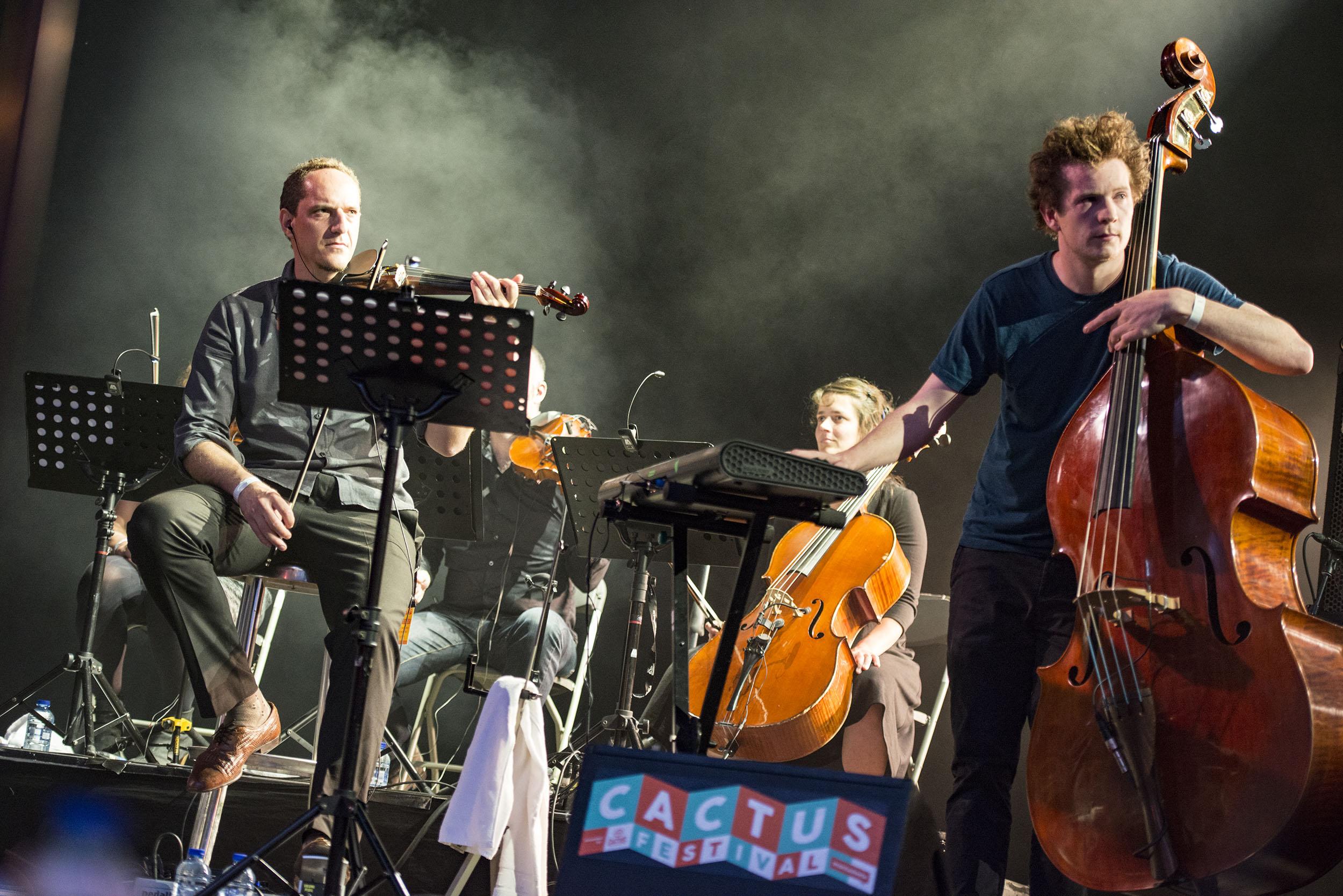 The Cinematic Orchestra @ Cactusfestival 2016 (© Nick De Baerdemaeker)