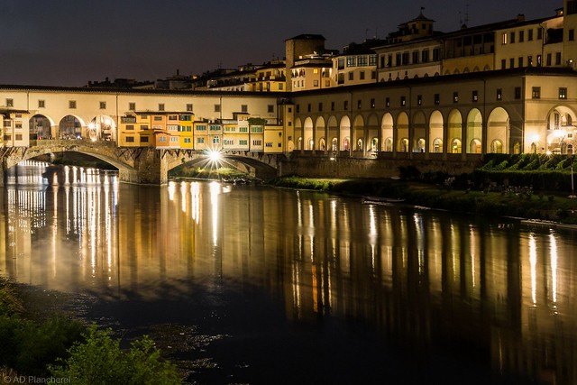 Night on the Arno