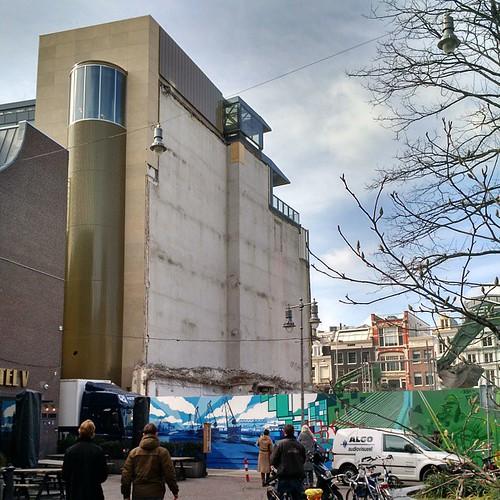 kale muur #rokin65 #denes #amsterdam