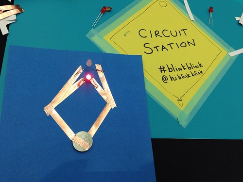 70/365 Make your own paper circuit | by Anetq