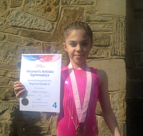 Sophie Leonard Gymnastics March 2015 | by St. Mary's Menston