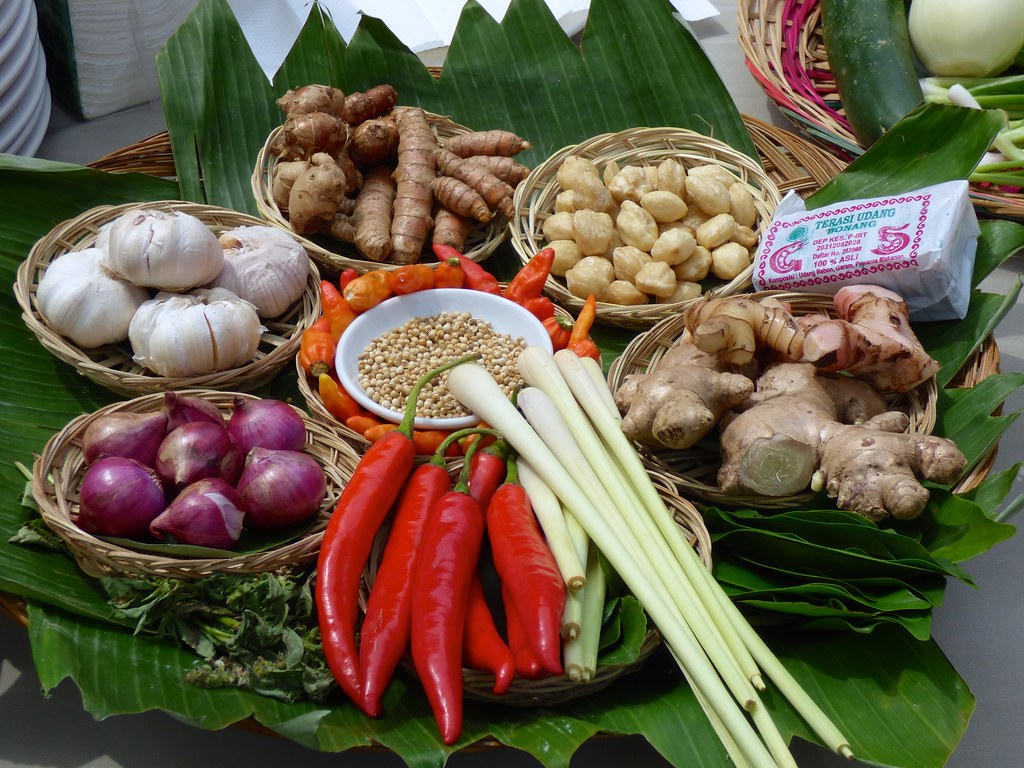 Kruiden En Specerijen Voor In De Indonesische Keuken Flickr