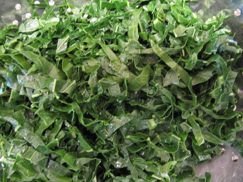 Alheira com legumes