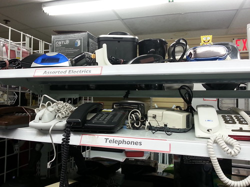 Telephones and Assorted Electrics | by jennofarc