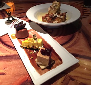Desserts at Sanaa at the Animal Kingdom Lodge | by popthestack