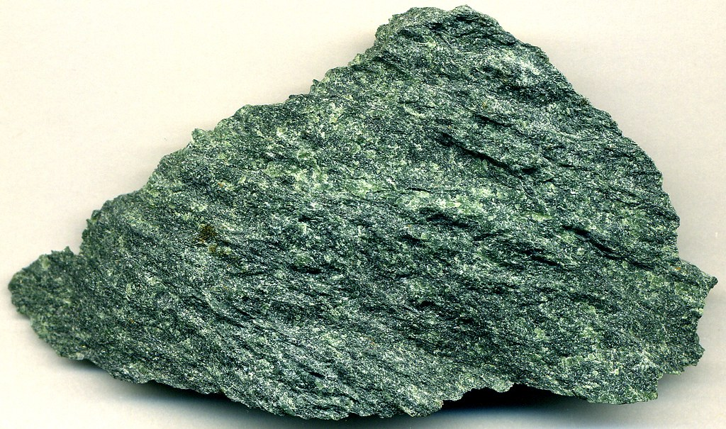 Serpentinite (Paleozoic; Vermont Verde Antique International Quarry, northeast of Rochester, Vermont, USA) 1