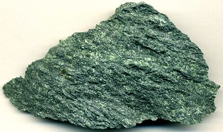 Serpentinite (Paleozoic; J.A. Vermont Verde Antique International Quarry, northeast of Rochester, Vermont, USA) | by James St. John