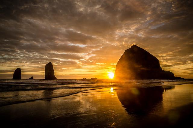 2016-07-11 - Haystack Rock Sunset