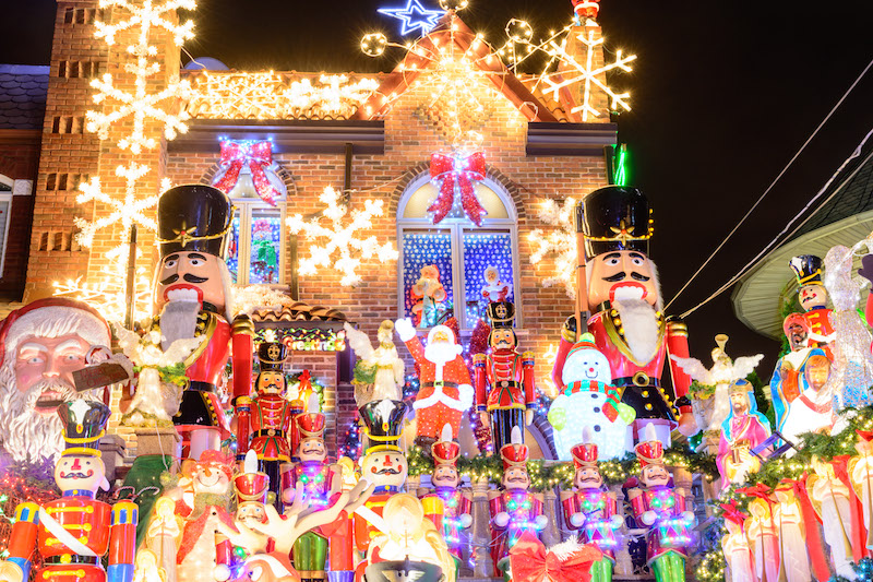 Image result for dyker heights christmas lights