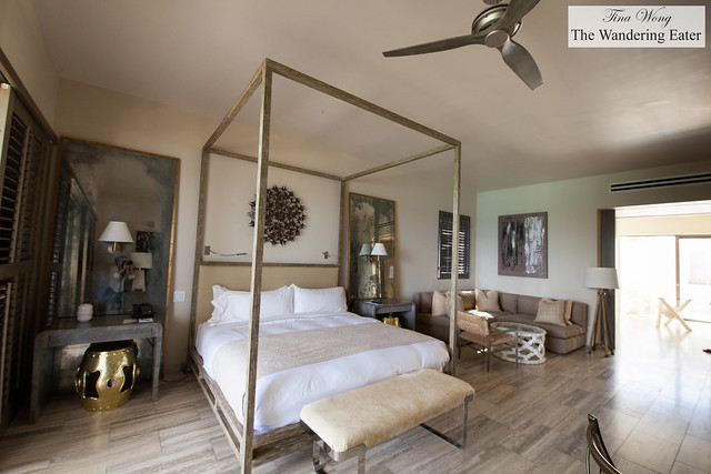 Master bedroom at Four Bedroom Oceanfront Villa