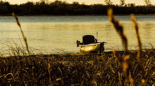 light sunset kayak texas lakes kayakfishing sonya6000