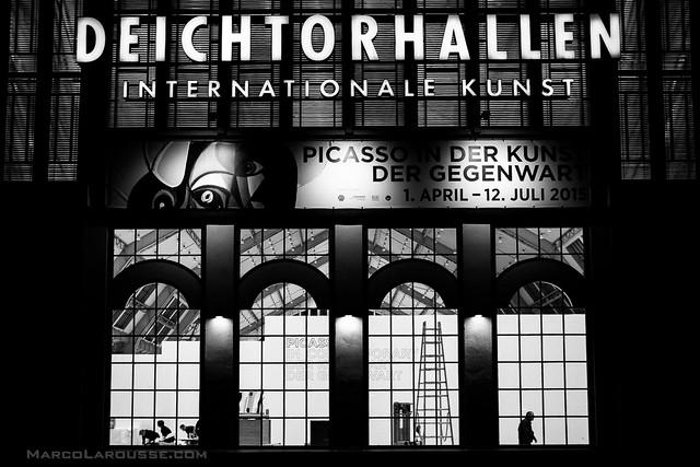 Preparing for the new Picasso exhibition at Deichtorhallen Hamburg - Fuji X100T