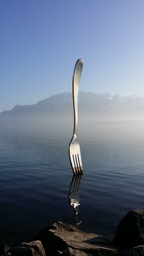 Fourchette-lac Léman-Vevey