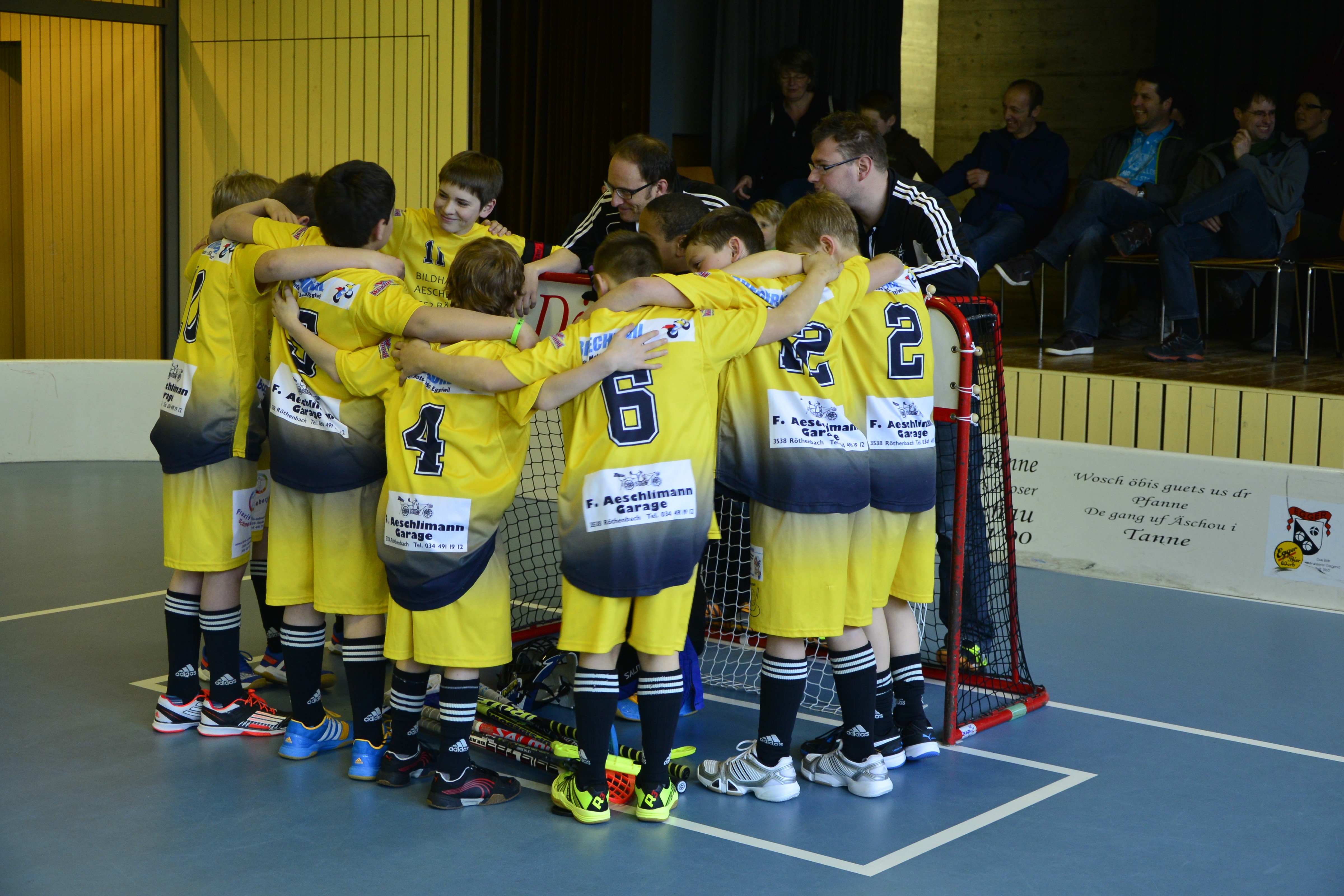 Junioren D I & II - Ämme-Valley Saison 2014/15