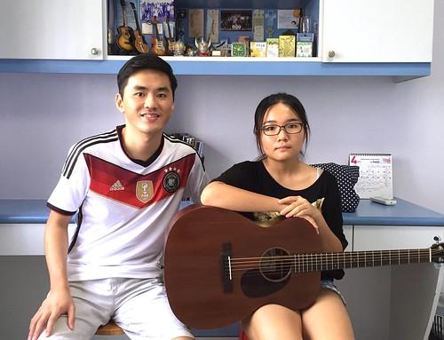 Private guitar lessons Singapore Boya