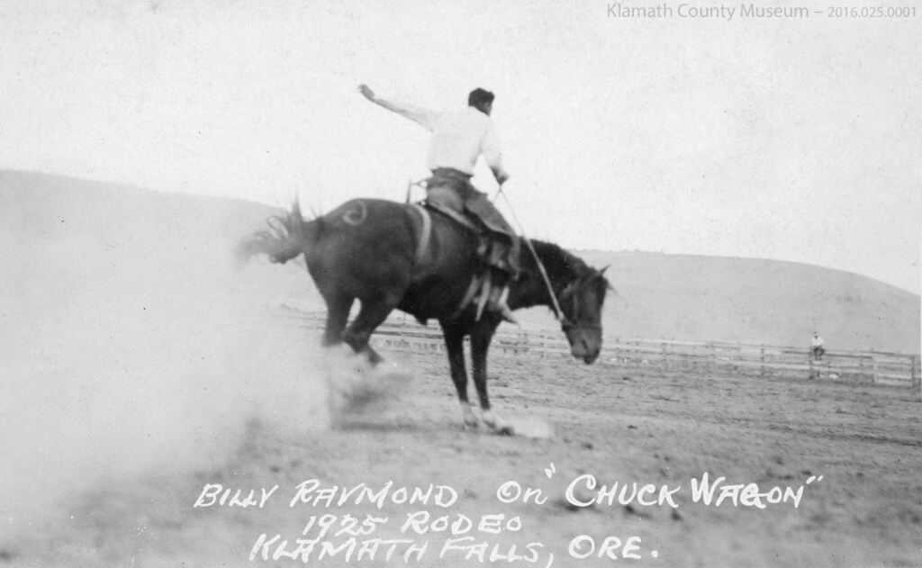 Post Card No 136 Billy Raymond In 1925 Rodeo Billy