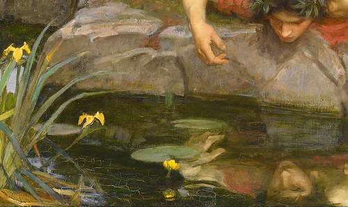 John William Waterhouse Quot Echo And Narcissus Quot 1903 Detail