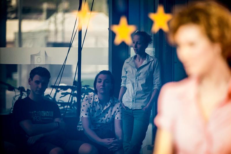 2018.04.20. Víz/választó – vitaszínházi előadás az Európa Pontban