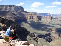 Grand Canyon - South Kaibab Trail, at Skeleton Point (2)