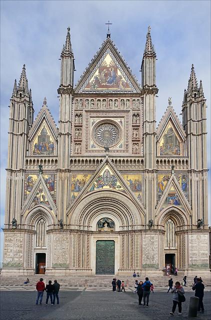 La Cathédrale d'Orvieto (Italie)