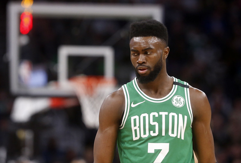 Jaylen Brown。(達志影像資料照)
