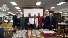 (L to R) Rep Davis, Ralph Labozzo, Patrick Soucy, Reps. Hall, Zawistowski, Vail and Stokes