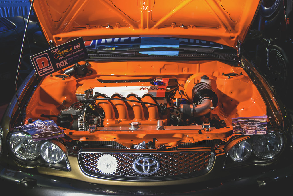 2ZZ-GE swapped Toyota Corolla Euro II-faced (AE111) | Flickr