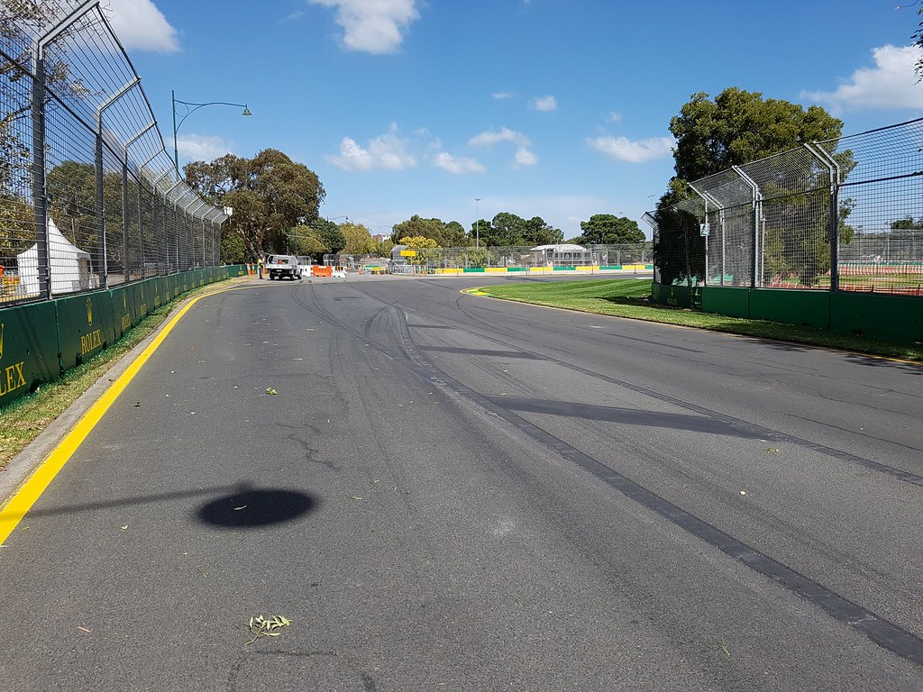 Melbourne Grand Prix Circuit - Turn 13 | The run into Turn 1