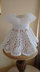:O <3 most delicate model I love this crochet dress white step by step pattern very elegant very cute