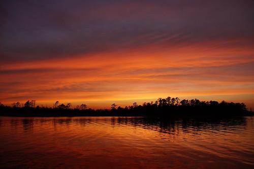 sunset spectacularsunsetsandsunrises cloudsstormssunsetssunrises dusk cloudscape clouds redclouds northcarolina northwestcreek fairfieldharbour sony sonyphotographing sonya58