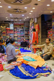 A Sari in Every Color | Old Delhi, India | by t linn