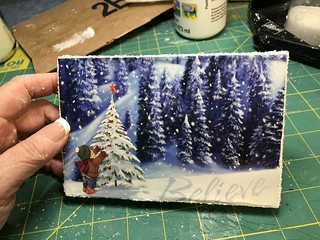 Putz base | by christmasnotebook