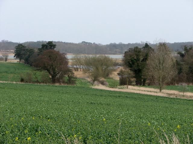 The Deben valley near Waldringfield