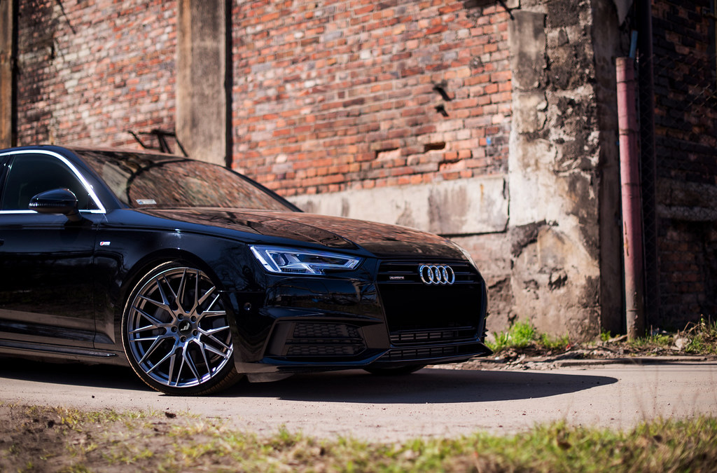 Audi A4 B9 Jr28 Hyper Black Jr Wheels Flickr