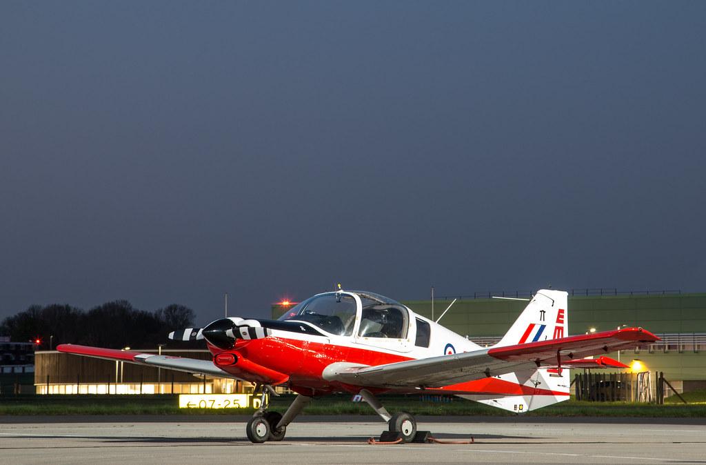 EGWU - Scottish Aviation Bulldog T1 - XX702