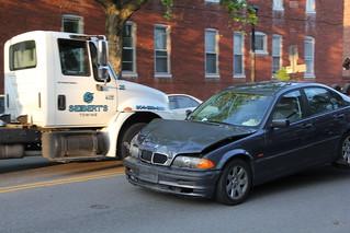 Flipped Car at Floyd & Boulevard | by Gamma Man