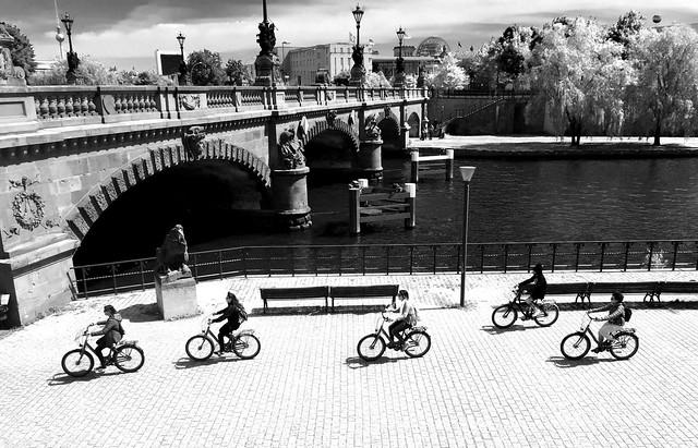 ¡Krydsende Cyklister!