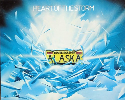"Alaska with Bernie Marsden Heart of the Storm 12"" VINYL LP"