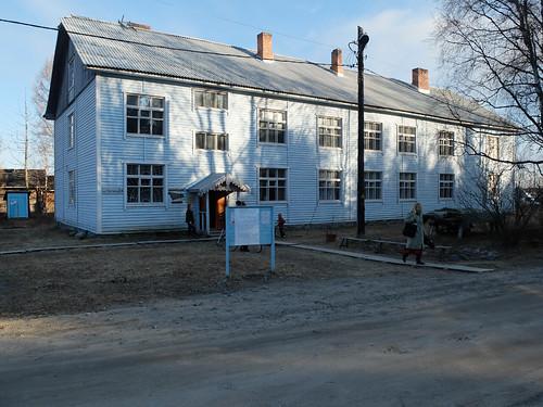 Restauroitu kylätalo