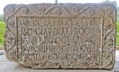 Volubilis inscription
