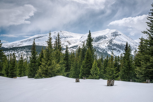 snow nature colorado day rockymountains landscapephotography hoosierpass