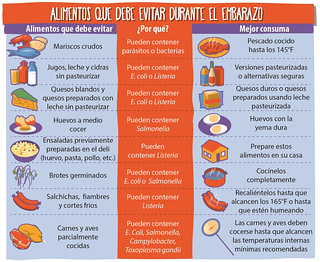Baby and Me - Foods to Avoid While Pregnant (Spanish) | by USDA Food Safety