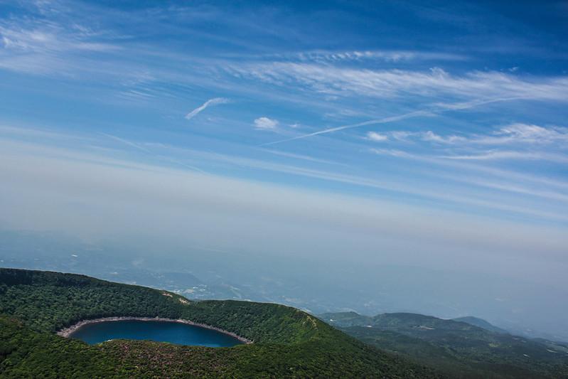 韓国岳 登山