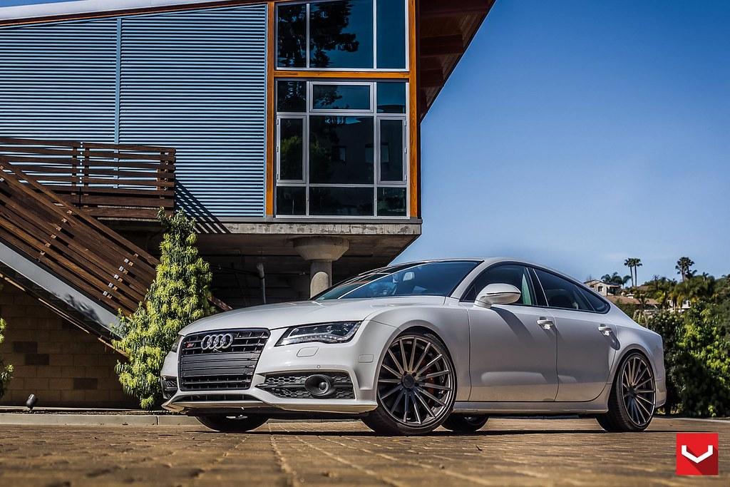 Audi S7 on 22-inch Vossen VFS2 Concave Wheels - © TAG Moto
