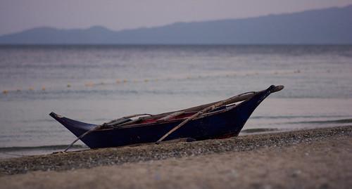 sunrise landscape boat nikon f14 philippines 85 пейзаж пляж лодка рассвет никон филиппины пуэртогалера