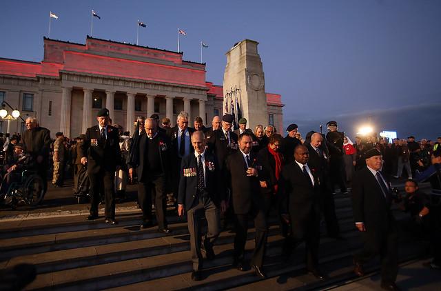 Anzac Day Commemorated In New Zealand - Auckland War Memorial Museum Tamaki Paenga Hira