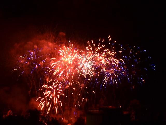 Feuerwerk Erbach Wiesenmarkt 2016