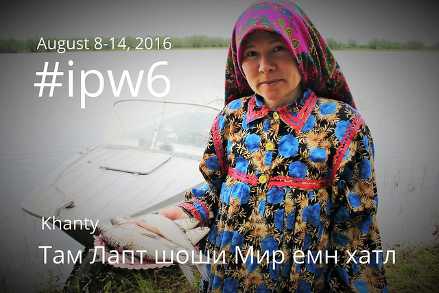 Indigenous Peoples Week in Khanty language