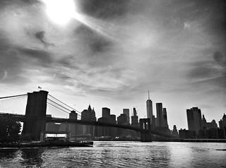 Brooklyn bridge view and skyline  #Newyork #nyc #newyorkcity #manhattan #Photo #Photography #Travel #travelgram #trip #iloveny #ilovenyc #newyorkphoto #instacool #instanewyork #mynyc #bigapple #archilovers #thebigapple #building #blackandwhite #bw #igers | by Mario De Carli